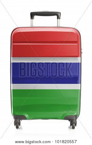 Suitcase With National Flag Series - Gambia