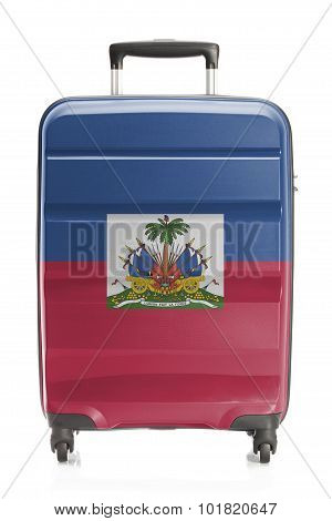 Suitcase With National Flag Series - Haiti