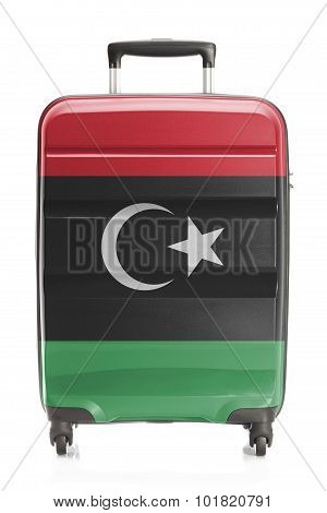 Suitcase With National Flag Series - Libya