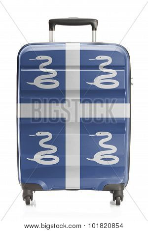 Suitcase With National Flag Series - Martinique
