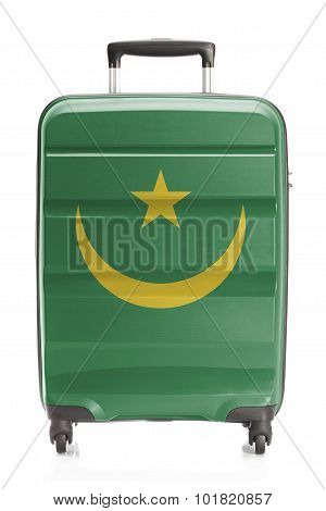 Suitcase With National Flag Series - Mauritania