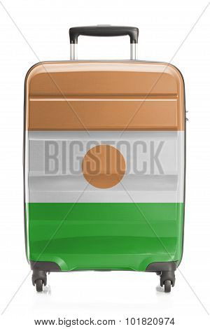 Suitcase With National Flag Series - Niger
