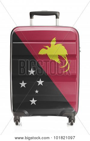 Suitcase With National Flag Series - Papua New Guinea