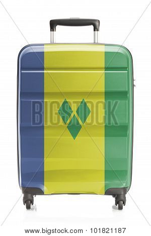 Suitcase With National Flag Series - Saint Vincent And The Grenadines
