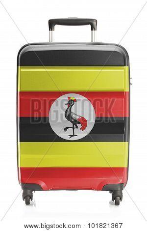Suitcase With National Flag Series - Uganda