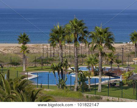 Pool Next To The Beach