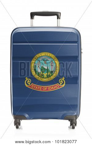 Suitcase With Us State Flag Series - Idaho