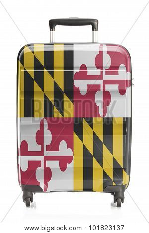 Suitcase With Us State Flag Series - Maryland