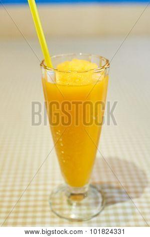 Orange, Peach or Mango Smoothie