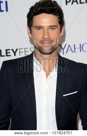 LOS ANGELES - SEP 12:  Benjamin Hollingsworth at the PaleyFest 2015 Fall TV Preview - CBS Code Black at the Paley Center For Media on September 12, 2015 in Beverly Hills, CA