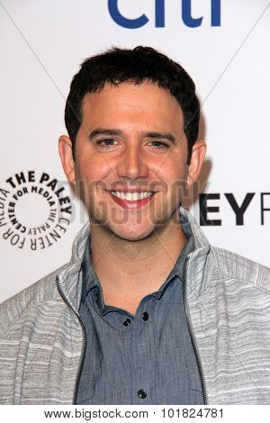 LOS ANGELES - SEP 14:  Santino Fontana at the PaleyFest 2015 Fall TV Preview - Crazy Ex-Girlfriend at the Paley Center For Media on September 14, 2015 in Beverly Hills, CA