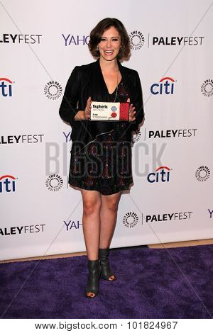 LOS ANGELES - SEP 14:  Rachel Bloom at the PaleyFest 2015 Fall TV Preview - Crazy Ex-Girlfriend at the Paley Center For Media on September 14, 2015 in Beverly Hills, CA