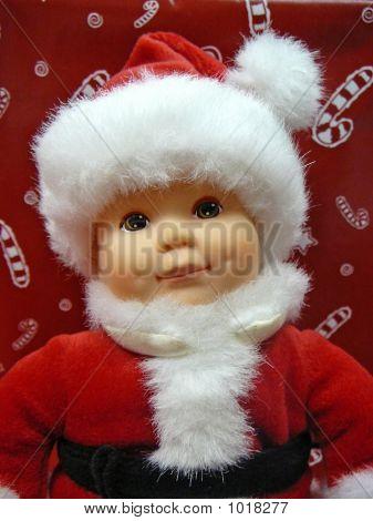 Baby Santa White