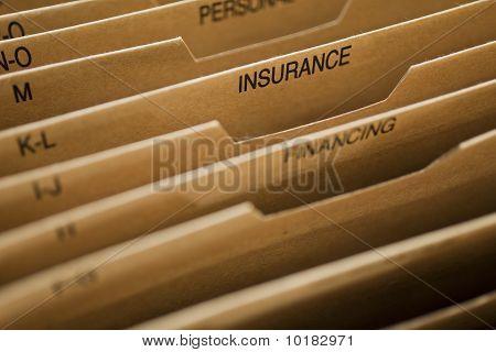 Cardboard Filing System Insurance