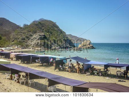 Bahia Concha Beach Tayrona Park