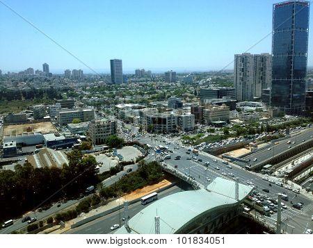 Tel Aviv Cityscape, Israel