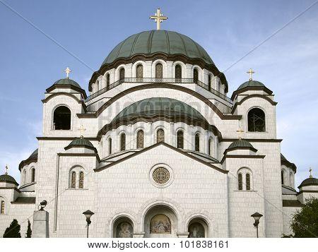 Church Of Saint Sava In Beograd