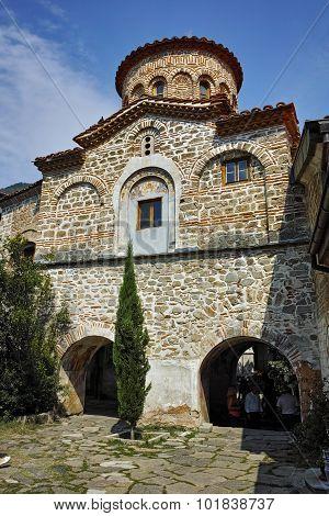 St. Archangels Church in Medieval Bachkovo Monastery