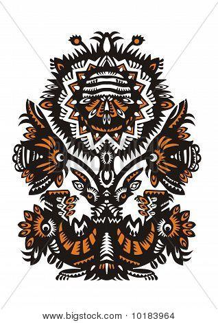 decorative floral design