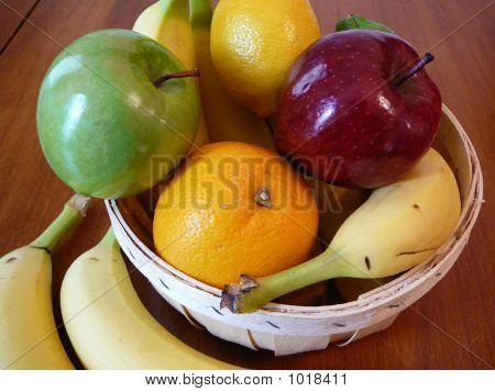 Fruit Bowl Bananas Lower Left