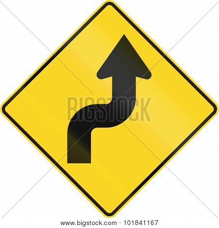 Reverse Curve First To Right In Canada