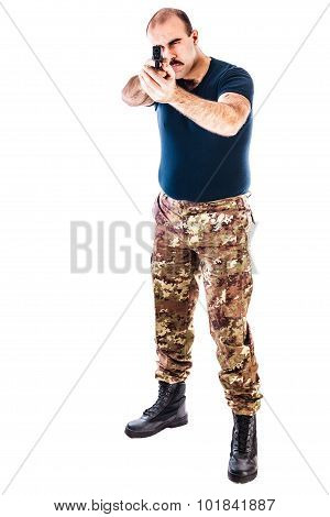 Armed Guerrilla Man