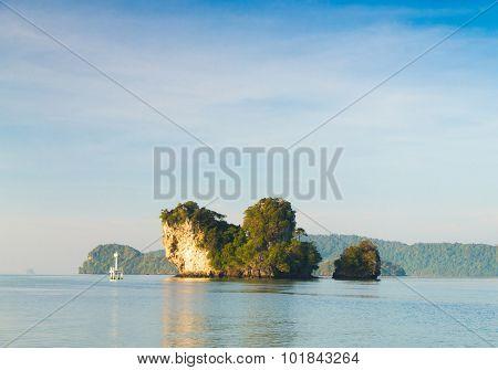 Idyllic Seascape Exotic Getaway