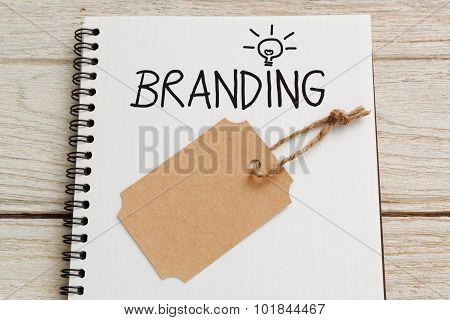 Branding Idea With Brand Tag
