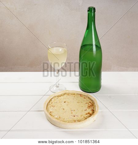 onion tarte and federweisser
