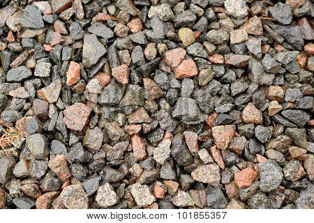 Wet Granite Rubble