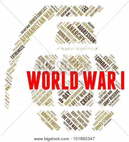World War I Represents Globe Bloodshed And Skirmish