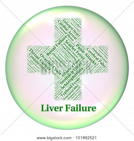 Liver Failure Indicates Lack Of Success And Ailment
