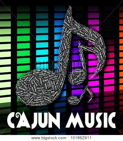 Cajun Music Shows Sound Tracks And Acoustic