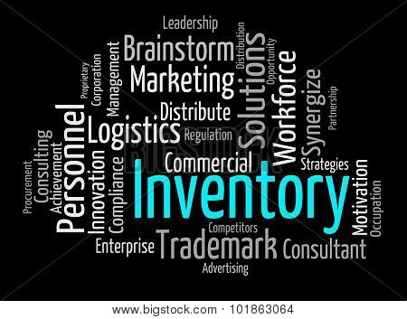 Inventory Word Indicates Words Merchandise And Inventories