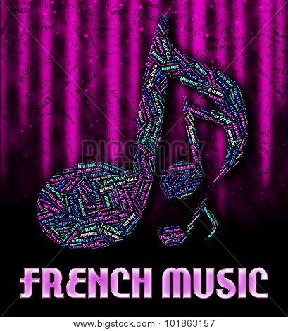 French Music Shows Sound Tracks And Acoustic