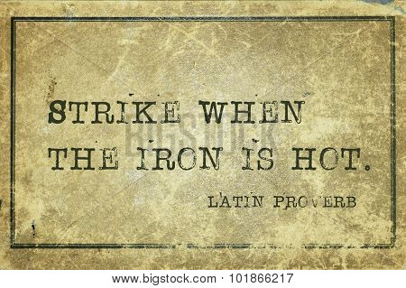 Strike Iron Lp