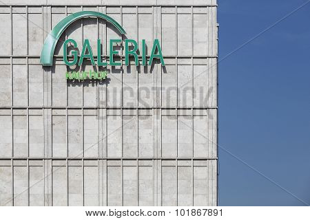 Galeria Kaufhof at Alexanderplatz in Berlin