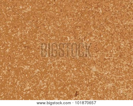 Realistic Cork Board Illustration Texture Background