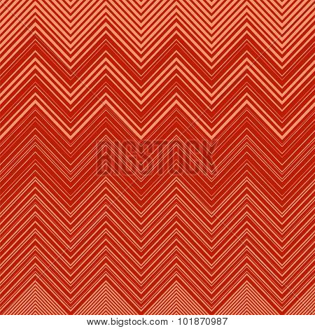 Geometric Vibrating Wave Pattern. Stylish Decorative Background with Zigzags