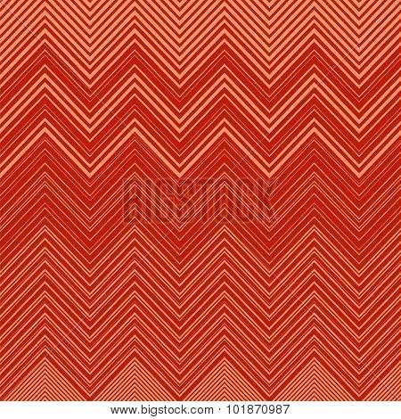 Geometric Vibrating Wave Pattern. Stylish Decorative Background with Zigzags