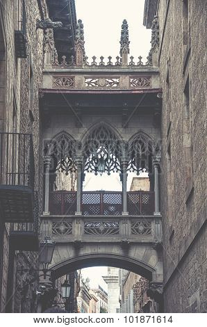 Gothic Quarter and Old town of Barcelona