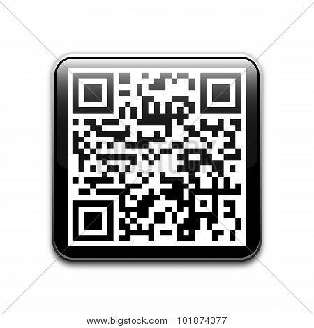 Vector Qr Code Icon