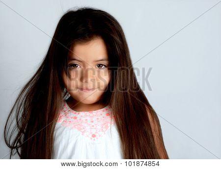 Nice Glamour Image of a Young Latino girl