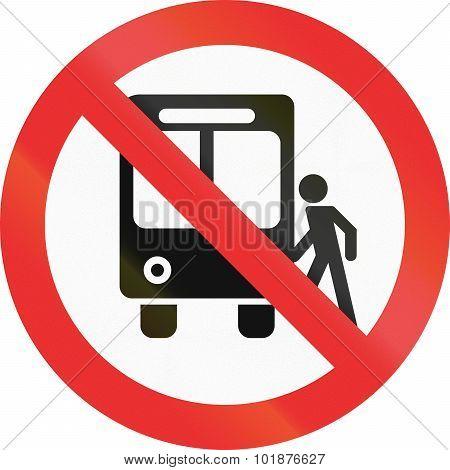 No Bus Stops In Mexico