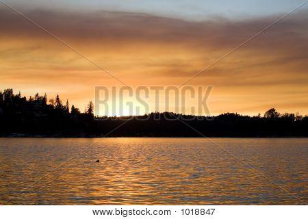 Lake Sunset 3
