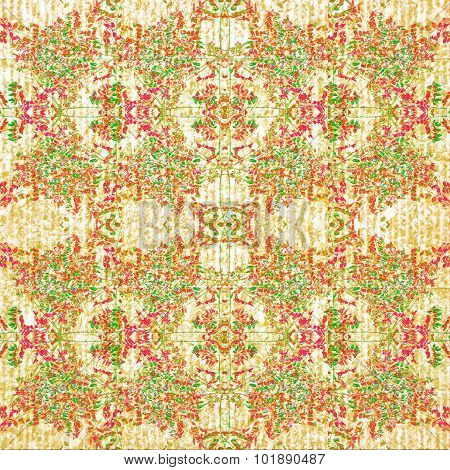 Vintage Victorian Floral Seamless Pattern