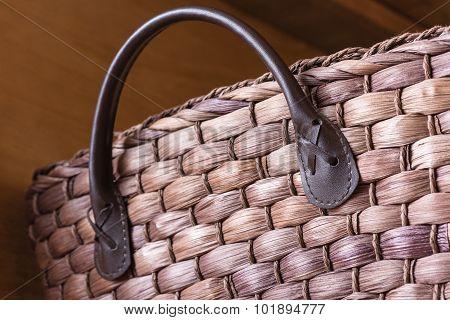 Wicker Basket Detail