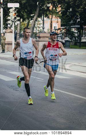 blind athletes run