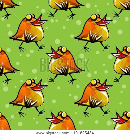 chicken seamless pattern