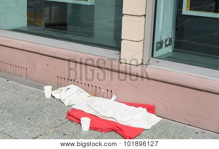 Homeless Home Bed
